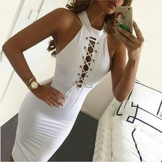 Sexy Women Sleeveless Casual Slim Summer Evening Cocktail Short Party Dress