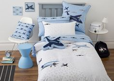Plane cushions to add to bed