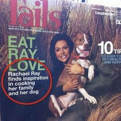 """Rachael Ray finds inspiration in....."" 16 unfortunate misuses of punctuation - http://on.mash.to/OXikSf"