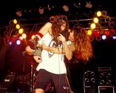 Chris Cornell carrying Eddie Vedder in Docs.