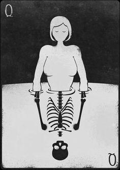 €verything Ðies Don't Fear The Reaper, Joker Card, First Tattoo, Skull Art, Deck Of Cards, Dark Art, Illustrators, Tarot, Character Art