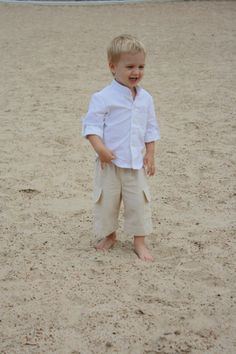 Boy's Linen Riviera Pant | Linens, Ring bearer outfit and Boys