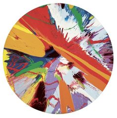 Damien Hirst - Spin Paintings take a favorite childhood craft and turn it into fine art...