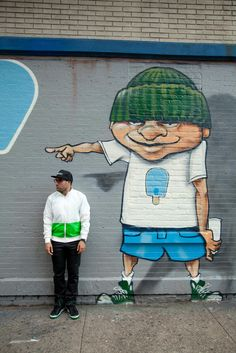 graffiti~He went that way~Lol   http://shop.montasoccer.com/collections/monta-studio