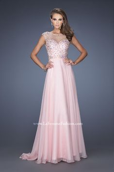 Sexy A-Line Natural Bateau Chiffon Sleeveless Evening Dresses prom dress  prom dresses feda1292bbe2
