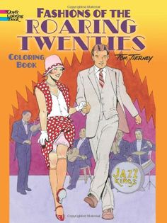 Fashions of the Roaring Twenties Coloring Book (Dover Coloring Books) by Tom Tierney http://www.amazon.com/dp/0486499502/ref=cm_sw_r_pi_dp_-a7Bvb0GD74GS