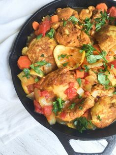 Moroccan Chicken Thighs are tender, simple and rich in flavor // A Cedar Spoon #ad #JustBARE