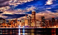 """$99 for Art & Company – Orland Park  Framed 36""""x14"""" Framed Canvas Chicago-Skyline Giclée with Optional Shipping (Up to 67% Off). $299"""