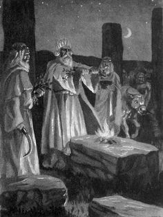 Ancient Druids | ancient druids specialized in different areas and each profession was ...