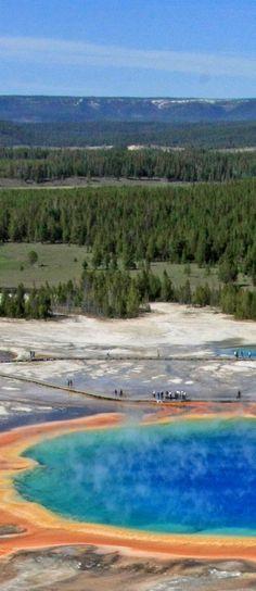 イエローストーン国立公園(アメリカ アイダホ州、モンタナ州、ワイオミング州) Yellowstone National Park, Wyoming/ Montana/Idaho)
