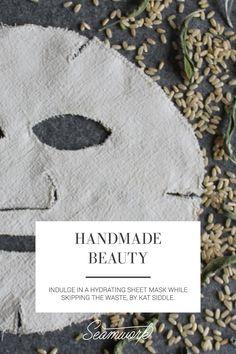 Handmade Beauty | DIY reusable fabric face mask