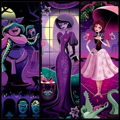 The lovely ladies of the Haunted Mansion! by Jeff Granito