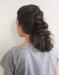 Braided Messy Bun Tutorial | Love, Hannah Lee by Hannah Martin