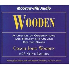 John Wooden audio book for the drive