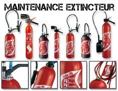 Maintenance extincteurs de la marque SICLI : Aujourd'hui, l'extincteur est l'outil de première intervention le plus performant car il permet, en fonction du type de feu, de neutraliser l'un des 3 facteurs de risque...
