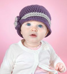 Whether dainty, playful, or all-boy, Baby will be extra adorable in these 10 crocheted hats from Annastasia Cruz. Each design in Baby Hats is sized for 3, 6, and 12 months and is quick and easy to mak