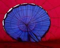 inside of a hot air balloon....Inflation 4 by lindadrayton, via Flickr