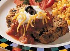 Yum... Id Pinch That! | Taco Meat Loaf Recipe