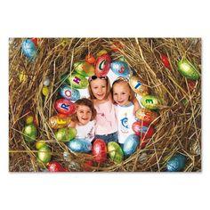 Postkarte zu Ostern mit Ihrem Foto bedruckt