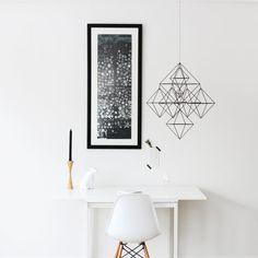 Black & white | hanging planter by HRUSKAA