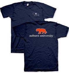 Navy Tiger Prep - Auburn University Game Day Tee