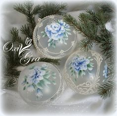 OxiGra #Boże #Narodzenie #meri #christmas #hand #painted #decorative