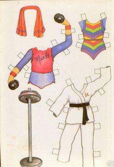 STARDANCER Paper Dolls UNCUT 1984 Paper Dolls - MaryAnn - Picasa Albums Web