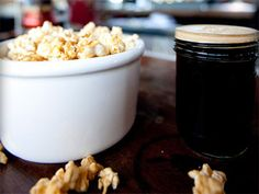 Bourbon Bacon Caramel Popcorn! And if you aren't brave enough to make it at home, head over to Villains Tavern in Downtown LA to experience the yummyness!