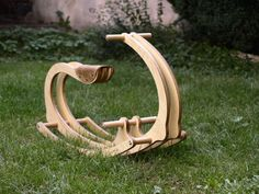 Wooden Rocking Horse Gift for kids, Wood, Gift for Kids, Personalized Rocking Chair, Kids Woodworking Projects, Wood Projects For Kids, Woodworking Jigs, Youtube Woodworking, Woodworking Magazine, Rocking Chair Plans, Cadeau Surprise, Horse Gifts, Wood Gifts