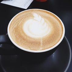 Photo from I really would love to have coffee right now ☕️ Latte, Coffee, Food, Coffee Milk, Kaffee, Cup Of Coffee, Hoods, Meals, Latte Macchiato