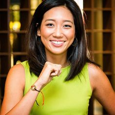 "DREAM BIG. ""I like to be challenged every day, and I grew up with people who always believed in whatever goal I set for myself. As a result, I dream big :)"" - Kathy Park, news anchor for NBC"
