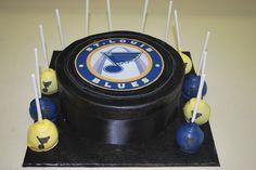 And hockey puck cupcakes.