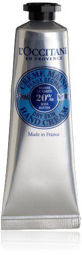 carry on L'Occitane Shea Butter Hand Cream, 1 oz. Foot Cream, Hand Cream, Gift Shop Names, Body Butter, Shea Butter, Loccitane En Provence, Travel Toiletries, Baby Powder, Hand Lotion