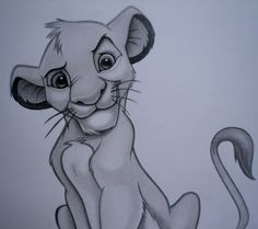 Simba sketch by sinsenor.