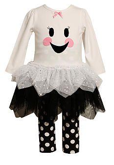 c8916fa58c8 Bonnie Jean® Ghost Legging Set Toddler Girls Ghost Dresses, Dresses With  Leggings, Halloween