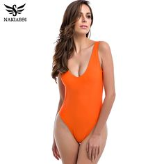 $11.99. XL. Different Colors. Sexy One Piece Swimsuit 2016 Swimwear Women Backless Bodysuit High Waist Bathing Suit Swim Summer Beachwear Monokini Swimsuit XL-in One-Piece Suits from Sports & Entertainment on Aliexpress.com | Alibaba Group