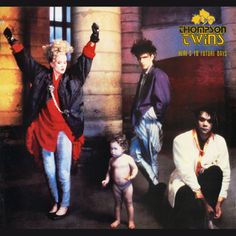USED VINYL RECORD 12 inch 33 rpm vinyl LP Released in 1985, Here's to Future Days is the fifth album by the British pop group Thompson Twins, Arista Records (AL 8-8276) Side 1: Don't Mess With Doctor