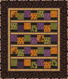 Free Patterns at FabShop Hop -- a virtual fabric shop and quilt shop hop Easy Quilt Patterns, Quilting Ideas, Sewing Patterns, Halloween Quilts, Halloween Stuff, Table Topper Patterns, Charm Square Quilt, Winter Quilts, Cat Quilt