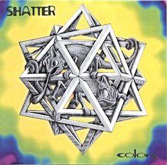 2001 Shatter - Colors [K-MAX Records] artwork: David Kerschbaum ; original artworks: M.C. Escher - Stars (1948) #albumcove Cover Art, Star Wars, Album Covers, David, Charmed, Colours, Jewelry, Jewlery, Jewerly