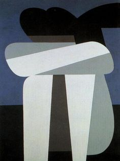 Sitting Figure by Yiannis Moralis Greece) Greek Paintings, Greek Art, Abstract Images, Abstract Art, Art Abstrait, Geometric Art, Figurative Art, New Art, Contemporary Art