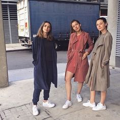 @americanapparelau AA girls in colour blocking spring styles  #americanapparel #aaemployees