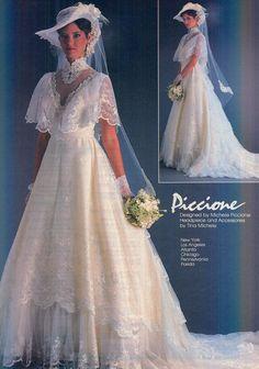 From Modern Bride Dec 1982/Jan 1983