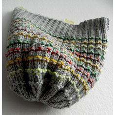 4616f9c3d Waffle Hat Knitting pattern by Anna Voronezhskaya #knittingforbeginners  Vogue Knitting, Pletení Na Stavu,