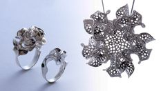 Floraform: Blooming Jewelry Inspired by Science and Nature - Design Milk