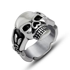 The Ultimate Titanium Stainless Steel Casted Skull Gothic Biker Classic Ring Sizes 7 to 12 (11) http://bikeraa.com/the-ultimate-titanium-stainless-steel-casted-skull-gothic-biker-classic-ring-sizes-7-to-12-11/