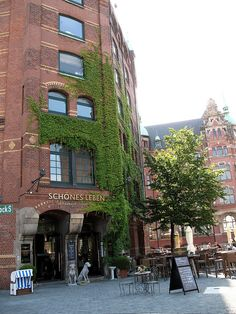 Nice Cafe in Hamburg, Germany