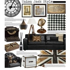 Union Jack Style, created by hmb213 on Polyvore