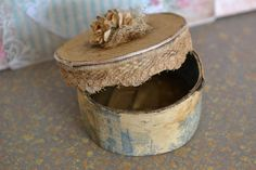 Miniature box by DEMENTEAMANO on Etsy