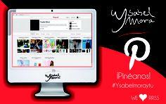 Todas nuestras #colecciones, intereses y curiosidades de la firma, #fotos inspiradoras de #moda, #tendencias, etc, en la red social de #imágenes más grande del mundo. ¡Estamos en #Pinterest! ¿Nos pineas un poquito? ;-) #YsabelMoraytu