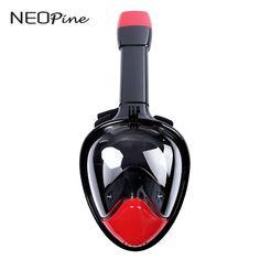 Cara cheia máscara de mergulho mergulho máscaras de mergulho de silicone Líquido de 180 graus de visão amplo câmera gopro mergulho de snorkel underwater esporte